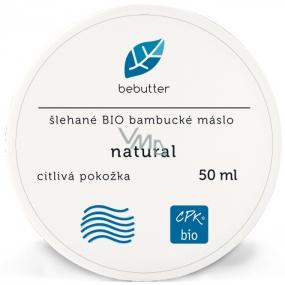 Aromatica Bebutter Bio Natural šlehané bambucké máslo pro jemnou a citlivou pokožku 50 ml