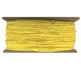 Provázek papírový žlutý 30 m