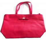 Marina De Bourbon Red Day to Day Shopping Bag červená kabelka pro ženy 45 x 27,5 x 13 cm