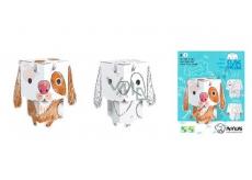 Monumi 3D Pes k vymalování 15,5 cm, pro děti od 5 let