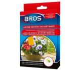Bros Lepové destičky do květináčů, láká a chytá škůdce na rostlinách 10 kusů + 5 úchytů