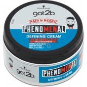 Got2b Phenomenal tvarovací krém pro vlasy a vousy 100 ml