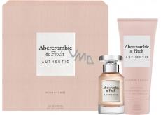 Abercrombie & Fitch Authentic Woman parfémovaná voda 50 ml + tělové mléko 200 ml, dárková sada