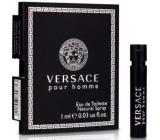 Versace pour Homme toaletní voda 1 ml s rozprašovačem, vialka