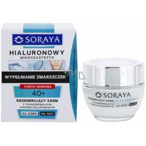 Soraya Hyaluronic Micro-Injection 40+ regenerační krém s transdermální kyselinou hyaluronovou na den/noc 50 ml