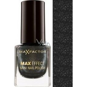 Max Factor Max Effect Mini Nail Polish lak na nehty 19 Deep Grey 4,5 ml