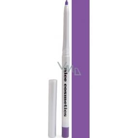 Diva & Nice Vysouvací konturovací tužka na oči s ořezávátkem 07 Fialová 1,2 g