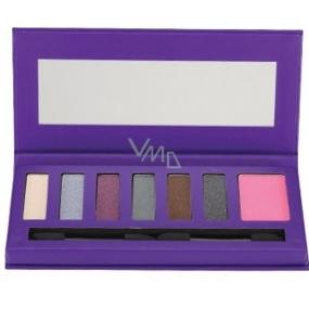 Barry M Glamour Puss Shadow & Blush Palette paleta očních stínů s tvářenkou 0613 9,2 g