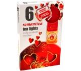 Tea Lights Romantica s romantickou vůní vonné čajové svíčky 6 kusů