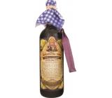 Bohemia Babičino víno k maceraci červené dárkové víno - černý bez květ 750 ml