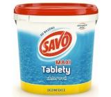 Savo Maxi Chlorové tablety do bazénu dezinfekce 4,6 kg