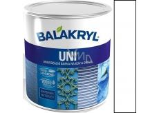 Balakryl Uni Mat 0100 Bílá univerzální barva na kov a dřevo 700 g