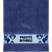 Albi Ručník Prostě borec modrý 90 x 50 cm