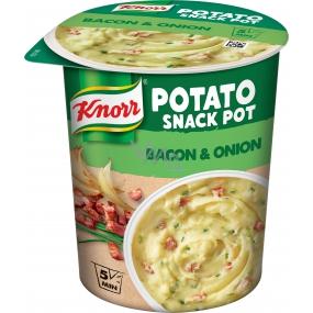 Knorr Snack Bramborová kaše se slaninou a cibulí 51 g