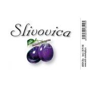 Arch Samolepka Slivovica velká etiketa 8,5 x 5,5 cm 3519-SK 1 kus