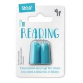 If Ticho prosím, čtu Špunty do uší Modrá