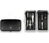 Kellermann 3 Swords Luxusní manikúra 6 dílná Articial Leather z vysoce kvalitní umělé kůže Black 7845 P N