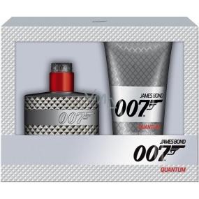 James Bond 007 Quantum toaletní voda 50 ml + sprchový gel 150 ml, dárková sada