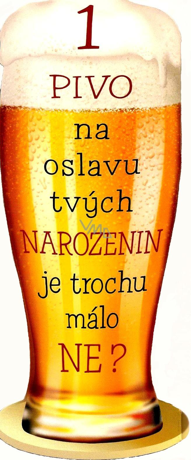 pivní přání k narozeninám Nekupto Přání k narozeninám pivo   VMD parfumerie   drogerie pivní přání k narozeninám