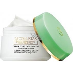 Collistar Sublime Melting Cream Jemný hydratační tělový krém 400 ml