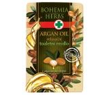 Bohemia Gifts & Cosmetics Arganový olej s glycerinem toaletní mýdlo 100 g
