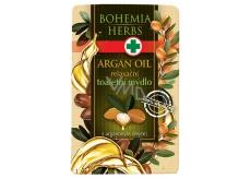 Bohemia Herbs Arganový olej a glycerin Toaletní mýdlo 100 g