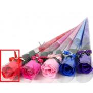 NeoCos Mýdlová růže v celofánu červená 4 g