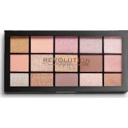 Makeup Revolution Re-Loaded paletka očních stínů Fundamental 15 x 1,1 g
