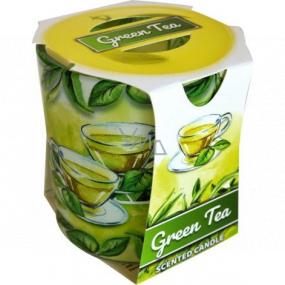 Admit Verona Green Tea - Zelený čaj vonná svíčka ve skle 90 g