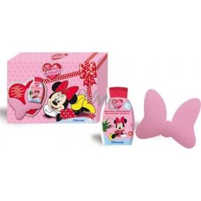 Disney Minnie Mouse sprchový gel 300 ml + žínka na mytí pro děti , kosmetická sada 11/2015