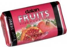 Dalan Fruits Pomegranate toaletní mýdlo 100 g