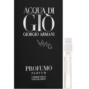 Giorgio Armani Acqua di Gio Profumo parfémovaná voda pro muže 1,5 ml s rozprašovačem, vialka