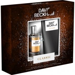 David Beckham Classic toaletní voda pro muže 40 ml + sprchový gel 200 ml, dárková sada