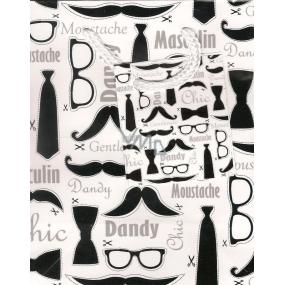 Nekupto Dárková papírová taška malá 1031 02 BS Gentleman 14 x 11 x 6,5 cm