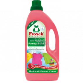 Frosch Eko Granátové jablko prací prostředek na barevné prádlo 22 dávek 1,5 l