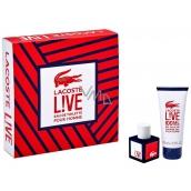 Lacoste Live pour Homme toaletní voda 40 ml + sprchový gel 100 ml, dárková sada