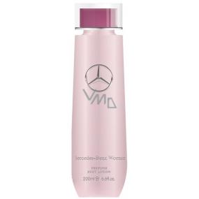Mercedes-Benz Mercedes Benz Woman Eau de Parfum tělové mléko pro ženy 200 ml