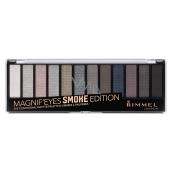 Rimmel London Magnifeyes Paleta očních stínů 003 Smoke Edition 14,16 g