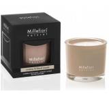 Millefiori Natural Incense & Blond Woods - Kadidlo a světlá dřeva Vonná svíčka hoří až 60 hodin 180 g
