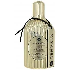 Vivian Gray Vivanel Prestige Ylang a Cedr luxusní pěna do koupele a sprchový gel 500 ml