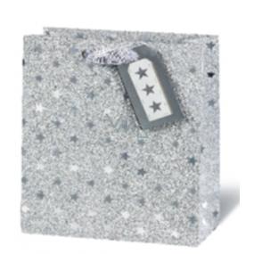 BSB Luxusní vánoční dárková papírová taška 36 x 26 x 14 cm VDT 416 - A4