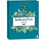Kneipp Baden im Gluck Oleje do koupele Dokonalý odpočinek 20 ml + Hluboké uvolnění 20 ml + Mandlové květy 20 ml + Tajemství krásy 20 ml + Antistres 20 ml + Staré dobré časy, kosmetická sada
