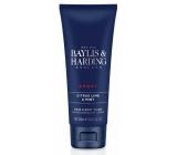 Baylis & Harding Men Limetka a Máta 2v1 mycí gel na vlasy a tělo pro muže 250 ml