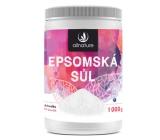 Allnature Epsomská sůl Hořčík, Síran do koupele uvolňuje svaly, odbourává stres, detoxikuje organismus 1000 g