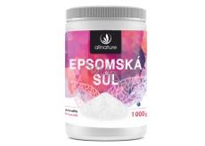 Allnature Epsomská sůl do koupele pro uvolnění svalů a odbourávání stresu 1000 g