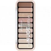 Essence The Nude Edition Eyeshadow Palette paletka očních stínů 10 Pretty In Nude 10 g