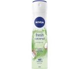 Nivea Fresh Coconut antiperspirant deodorant sprej pro ženy 150 ml