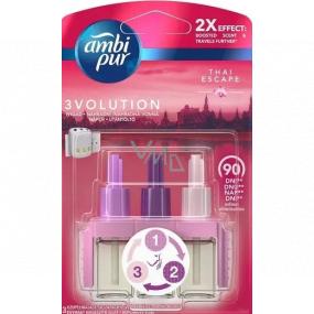 Ambi Pur 3 Volution Thai Escape 2x Effect elektrický osvěžovač vzduchu 3 x 20 ml