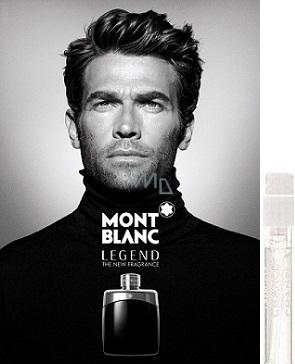Mont Blanc Legend toaletní voda 1,2 ml s rozprašovačem, Vialka