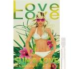 Love Love Sun & Love toaletní voda pro ženy 1,6 ml s rozprašovačem, Vialka